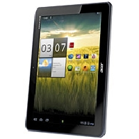 Acer Iconia Tab A200 doesn't have a GSM transmitter, it cannot be used as a phone. Official announcement date is  January 2012. The device is working on an Android OS, v3.2 (Honeycomb) actu