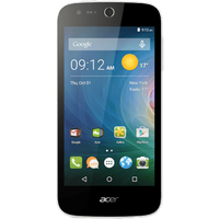 Acer Liquid Z330 supports frequency bands GSM and HSPA. Official announcement date is  September 2015. The device is working on an Android OS, v5.1 (Lollipop) with a Quad-core 1.1 GHz Corte
