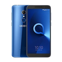 Alcatel 3 supports frequency bands GSM ,  HSPA ,  LTE. Official announcement date is  February 2018. The device is working on an Android 8.0 (Oreo) with a Quad-core 1.3 GHz Cortex-A53 proce