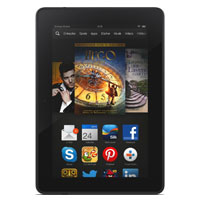 Amazon Kindle Fire HDX supports frequency bands GSM ,  HSPA ,  EVDO ,  LTE. Official announcement date is  September 2013. The device is working on an Android OS (Jelly Bean - customized) w