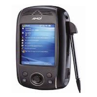 Amoi E850 supports GSM frequency. Official announcement date is  second quarter 2006. The device is working on an Microsoft Windows Mobile 5.0 for PocketPC Phone Edition with a Intel XScale