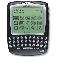 BlackBerry 6720 supports GSM frequency. Official announcement date is  second quarter 2003. Operating system used in this device is a BlackBerry OS and  1 MB RAM memory. BlackBerry 6720 has