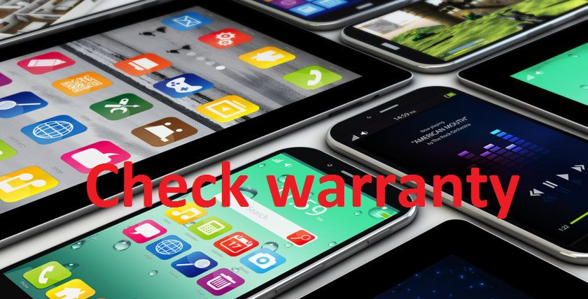 Free warranty checker by IMEI number - list