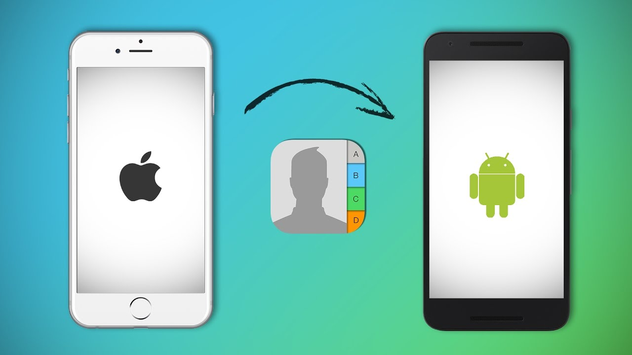 Do you want to transfer your data from Apple to Android smartphone? I  will tell you how