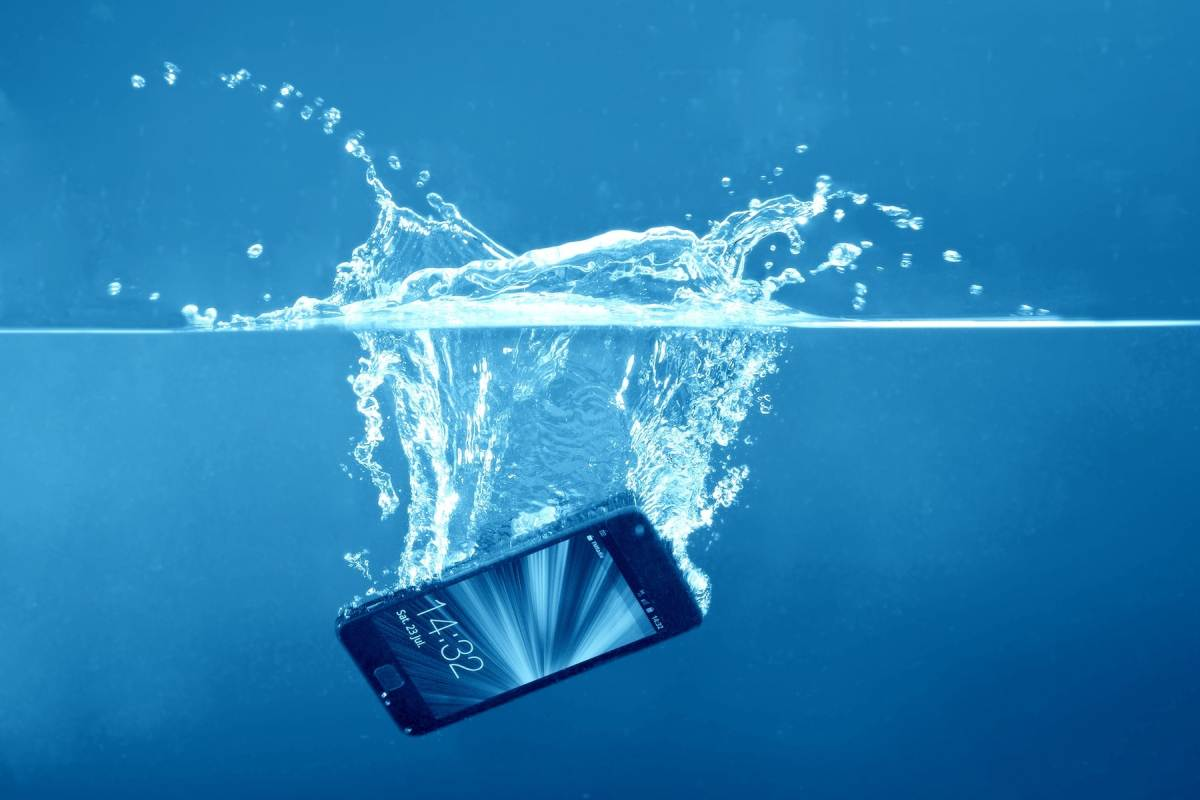 I dropped my phone into water - what can I do?