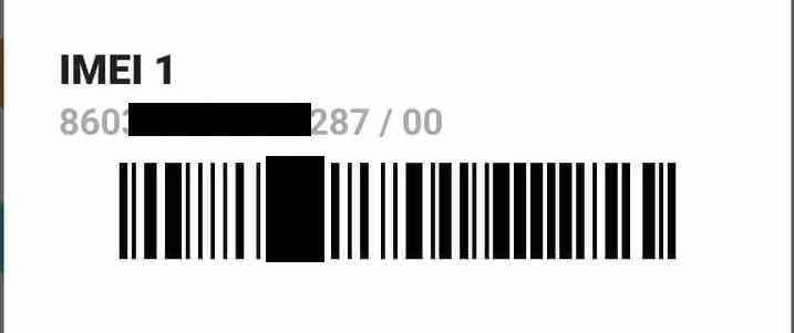 Xiaomi identification numbers