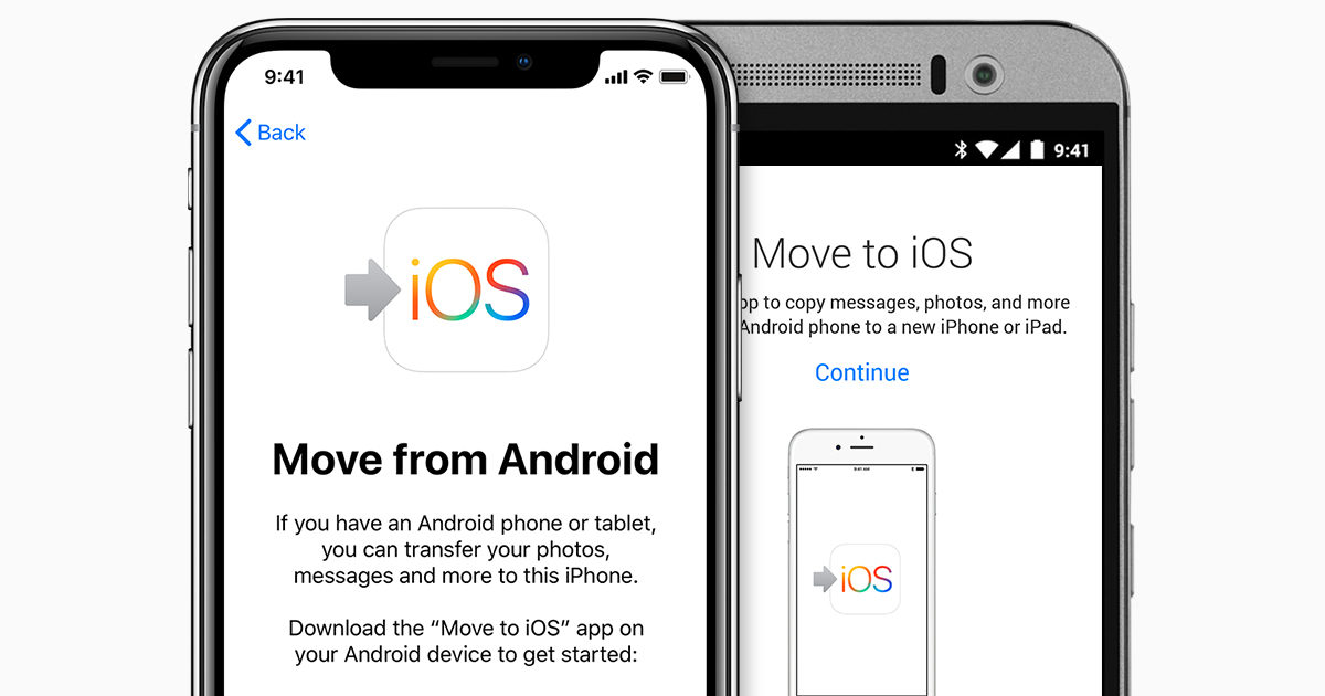 Do you want to transfer your data from Android to iPhone? Tutorial
