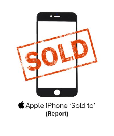 iPhone SoldTo service information