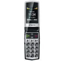 Emporia Click supports GSM frequency. Official announcement date is  2011. Emporia Click has 2 MB of internal memory. This device has a Mediatek MT6223 (09A)/ MT6260 chipset. The main scree