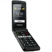 Emporia Flip Basic supports GSM frequency. Official announcement date is  March 2014. Emporia Flip Basic has 16 MB of internal memory. This device has a Mediatek MT6260M chipset. The main s