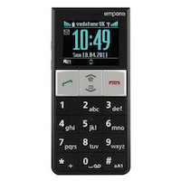 Emporia RL1 supports GSM frequency. Official announcement date is  2011. Emporia RL1 has 8 MB of built-in memory. The main screen size is 1.8 inches  with 128 x 160 pixels  resolution. It h