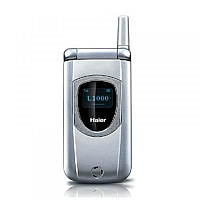 Haier L1000 supports GSM frequency. Official announcement date is  first quarter 2005.