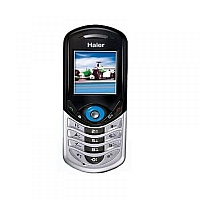 Haier V190 supports GSM frequency. Official announcement date is  2004. Haier V190 has 2 MB of built-in memory.