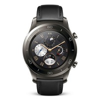 Huawei Watch 2 Classic doesn't have a GSM transmitter, it cannot be used as a phone. Official announcement date is  February 2017. The device is working on an Android Wear OS 2.0 with a Qua