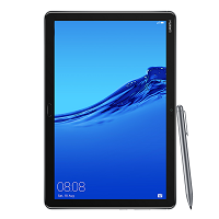 Huawei MediaPad M5 lite supports frequency bands GSM ,  HSPA ,  LTE. Official announcement date is  September 2018. The device is working on an Android 8.0 (Oreo) with a Octa-core (4x2.36 G
