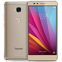 Huawei Honor 5X supports frequency bands GSM ,  HSPA ,  LTE. Official announcement date is  October 2015. The device is working on an Android OS, v5.1.1 (Lollipop), planned upgrade to v6.0
