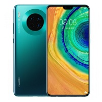 Huawei Mate 30 5G supports frequency bands GSM ,  HSPA ,  LTE ,  5G. Official announcement date is  September 2019. The device is working on an Android 10; EMUI 10 with a Octa-core (2x2.86