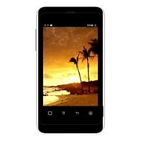 Karbonn A5 supports frequency bands GSM and HSPA. Official announcement date is  July 2013. The device is working on an Android OS, v2.3 (Gingerbread) with a 1 GHz processor and  256 MB RAM