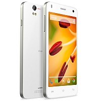 Lava Iris X1 supports frequency bands GSM and HSPA. Official announcement date is  May 2014. The device is working on an Android OS, v4.4.2 (KitKat) with a Quad-core 1.2 GHz processor and
