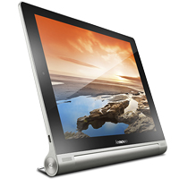 Lenovo Yoga Tablet 10 HD+ supports frequency bands GSM and HSPA. Official announcement date is  February 2014. The device is working on an Android OS, v4.3 (Jelly Bean) actualized v4.4 (Kit