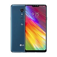 LG Q9 supports frequency bands GSM ,  HSPA ,  LTE. Official announcement date is  January 2019. The device is working on an Android 8.1 (Oreo) with a Quad-core (2x2.15 GHz Kryo & 2x1.6 GHz