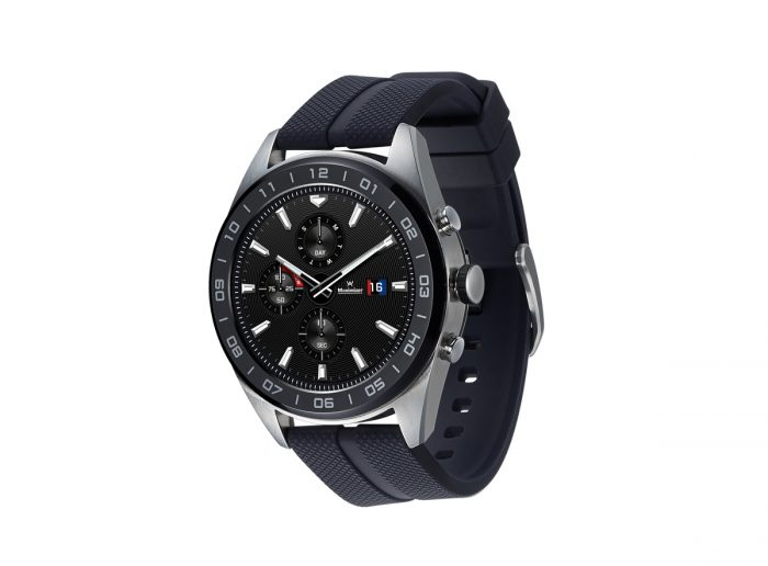 LG Watch W7 - description and parameters
