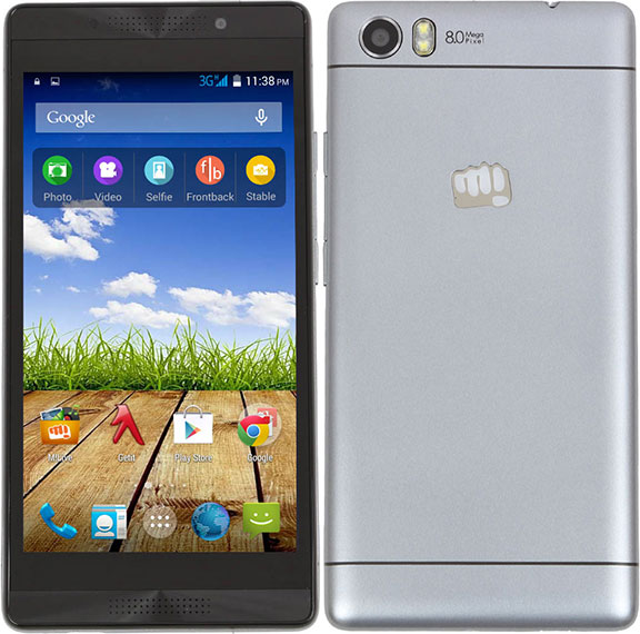 Micromax Canvas Fire 4G Plus Q412 Q412 - description and parameters