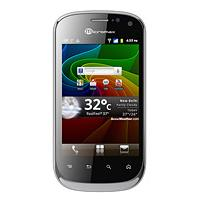 Micromax A75 supports frequency bands GSM and HSPA. Official announcement date is  December 2011. The device is working on an Android OS, v2.3 (Gingerbread) with a 650 MHz Cortex-A9 process