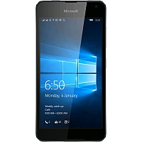 Microsoft Lumia 650 supports frequency bands GSM ,  HSPA ,  LTE. Official announcement date is  February 2016. The device is working on an Microsoft Windows 10 with a Quad-core 1.3 GHz Cort