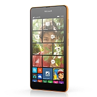Microsoft Lumia 535 supports frequency bands GSM and HSPA. Official announcement date is  November 2014. The device is working on an Microsoft Windows Phone 8.1 with a Quad-core 1.2 GHz Cor