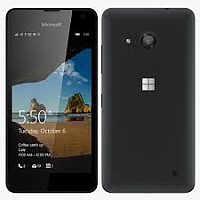 Microsoft Lumia 550 supports frequency bands GSM ,  HSPA ,  LTE. Official announcement date is  October 2015. The device is working on an Microsoft Windows 10 with a Quad-core 1.1 GHz Corte