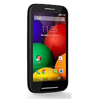 Motorola Moto E supports frequency bands GSM and HSPA. Official announcement date is  May 2014. The device is working on an Android OS, v4.4.2 (KitKat) actualized v4.4.4 (KitKat), planned u