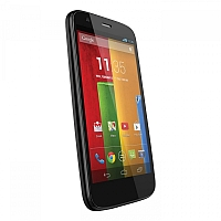 Motorola Moto G supports frequency bands GSM ,  CDMA ,  HSPA ,  EVDO. Official announcement date is  November 2013. The device is working on an Android OS, v4.3 (Jelly Bean) actualized v5.1
