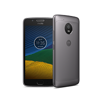 Motorola Moto G5 supports frequency bands GSM ,  HSPA ,  LTE. Official announcement date is  February 2017. The device is working on an Android OS, v7.0 (Nougat) with a Octa-core 1.4 GHz Co