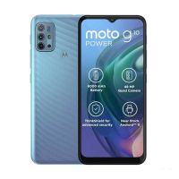 Motorola Moto G10 Power supports frequency bands GSM ,  HSPA ,  LTE. Official announcement date is  March 09 2021. The device is working on an Android 11 with a Octa-core (4x1.8 GHz Kryo 24