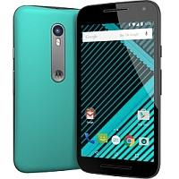 Motorola Moto G Dual SIM (3rd gen) supports frequency bands GSM ,  HSPA ,  LTE. Official announcement date is  July 2015. The device is working on an Android OS, v5.1.1 (Lollipop) with a Qu