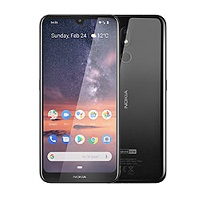 Nokia 3.2 supports frequency bands GSM ,  HSPA ,  LTE. Official announcement date is  February 2019. The device is working on an Android 9.0 (Pie); Android One with a Quad-core 1.8 GHz Cort