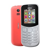 Nokia 130 (2017) supports GSM frequency. Official announcement date is  July 2017. Nokia 130 (2017) has 8 MB of internal memory. The main screen size is 1.8 inches  with 120 x 160 pixels  r