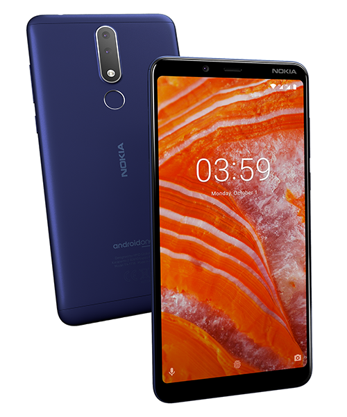 Nokia 3.1 Plus TA-1125 - description and parameters
