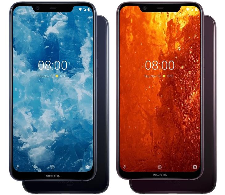 Nokia 8.1 (Nokia X7) TA-1119 DS - description and parameters