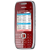 What is the price of Nokia E75