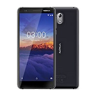 Nokia 3.1 supports frequency bands GSM ,  HSPA ,  LTE. Official announcement date is  May 2018. The device is working on an Android 8.0 (Oreo); Android One with a Octa-core (4x1.5 GHz Corte