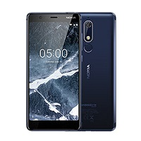 Nokia 5.1 supports frequency bands GSM ,  HSPA ,  LTE. Official announcement date is  May 2018. The device is working on an Android 8.0 (Oreo); Android One with a Octa-core (4x2.0 GHz Corte