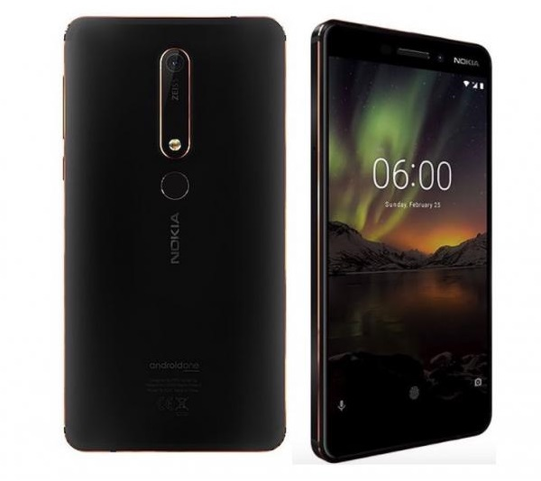 Nokia 6.1 TA-1068 - description and parameters
