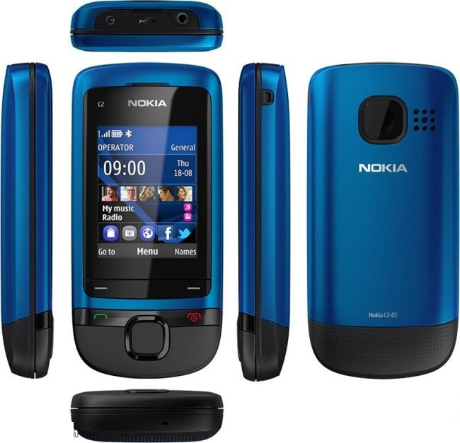 Nokia C2-05 - description and parameters
