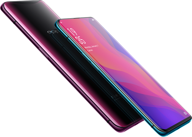 Oppo Find X CPH1875 - description and parameters