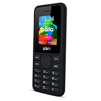 Parla Minu P124 supports GSM frequency. Official announcement date is  November 2015. Parla Minu P124 has 4 MB of internal memory. The main screen size is 1.8 inches  with 128 x 160 pixels