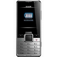Philips X630 supports GSM frequency. Official announcement date is  July 2009. The phone was put on sale in  2009. Philips X630 has 80 MB of built-in memory. The main screen size is 2.4 inc