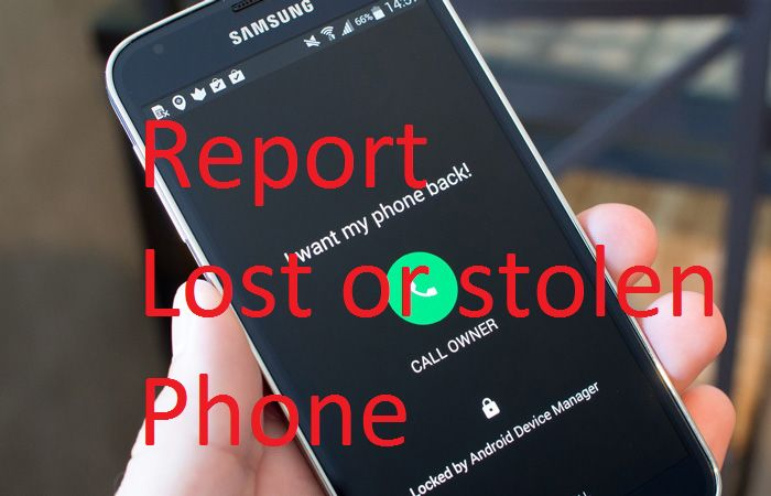 Report a LOST or STOLEN device to IMEI24 blacklist database