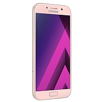 Samsung Galaxy A5 (2017) supports frequency bands GSM ,  HSPA ,  LTE. Official announcement date is  January 2017. The device is working on an Android OS, v6.0.1 (Marshmallow) with a Octa-c